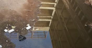 مستشفى المبرة للتأمين الصحي بأسيوط تسبح في مياه الصرف الصحي