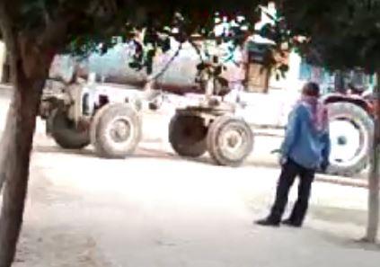 فيديو.. الإسماعيلية: ري أشجار مدرسة بالصرف الصحي.. وتفريغه بفنائها
