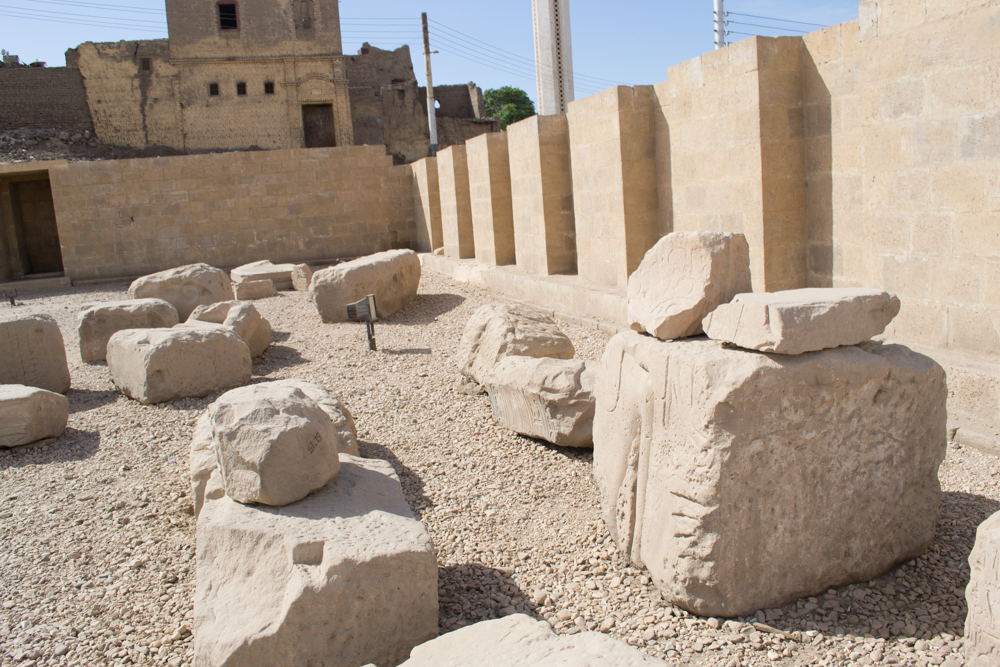 معبد ابيدوس بسوهاج