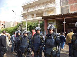 تخاذل محليات كفر الزيات تجاه تعديات رجل أعمال على طريق مصر ـ إسكندرية