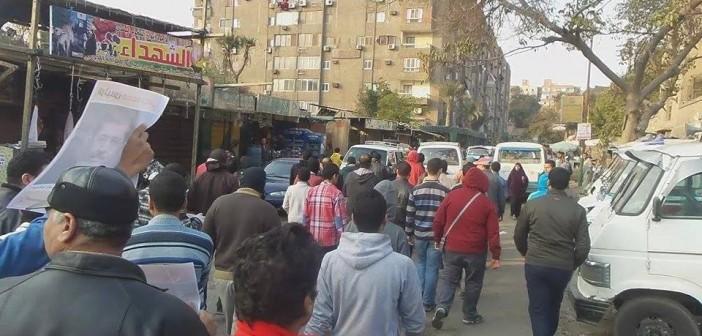 اشتباكات عنيفة بين الأمن والإخوان في حلوان