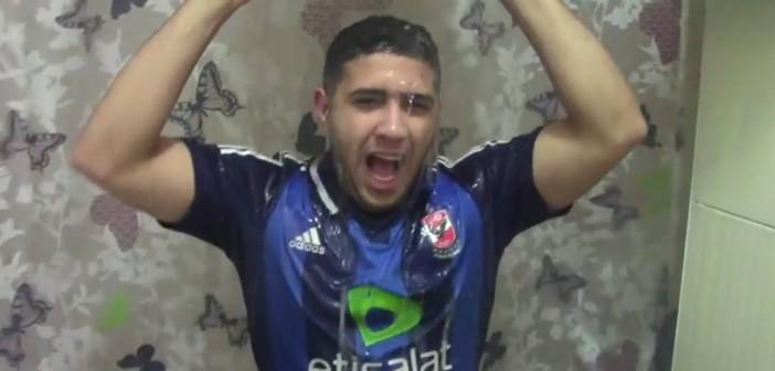 فيديو.. مصري ينافس أبوتريكة في «تحدي الثلج» دعمًا للاجئي سوريا بالشتاء