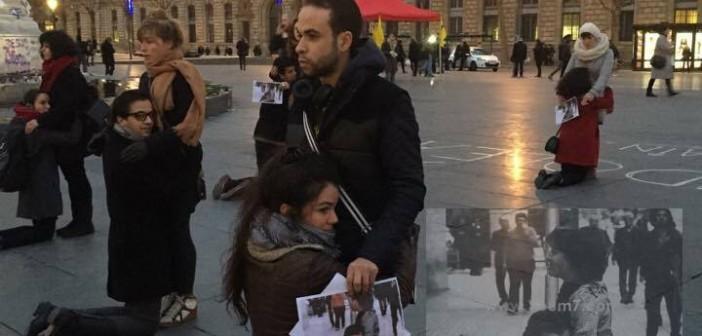 بالصور.. وقفة تضامنية في باريس احتجاجًا على مقتل شيماء الصباغ