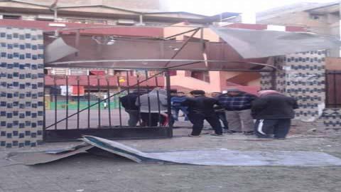 انفجار مدرسة بيبي جاردن