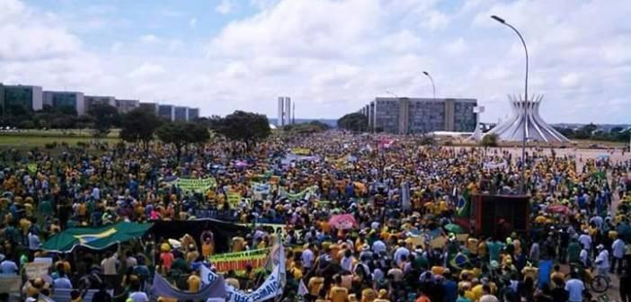 مظاهرات تعُم البرازيل للمطالبة برحيل «روسيف»