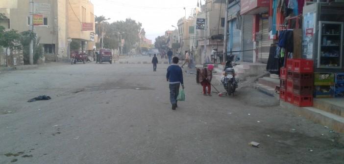 إغلاق شارعين رئيسيين في إطسا يتسبب في شلل مروري بالمدينة