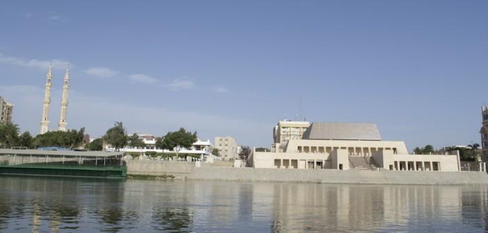 بالصور.. ربع قرن على توقف بناء متحف سوهاج: الخرسانة وحدها لا تكفي