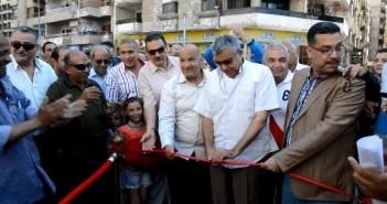 إفتتاح أول صندوق للقمامة بالأسكندرية أسفل مستوى الأرض