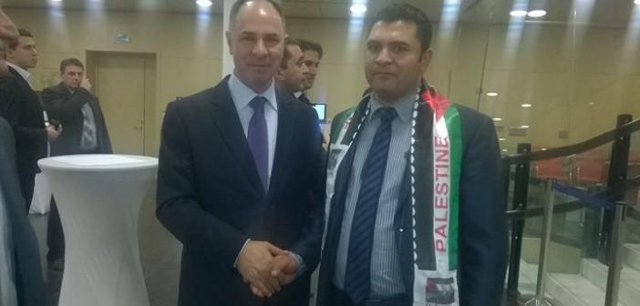 يوم التضامن العالمي مع الشعب الفلسطيني من موسكو