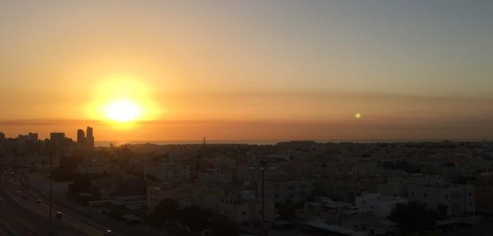 صباح جميل بشروق ساحر