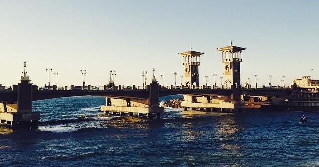 ستانلي وقت الغروب .. حبيبتي يا إسكندرية (صورة)