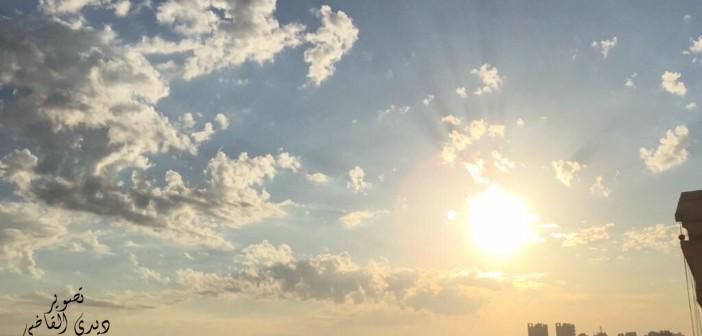 الإسكندرية.. شمس وسما في حضن السحاب (صورة)