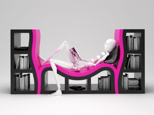 red-Most-Creative-and-Unique-Bookshelves