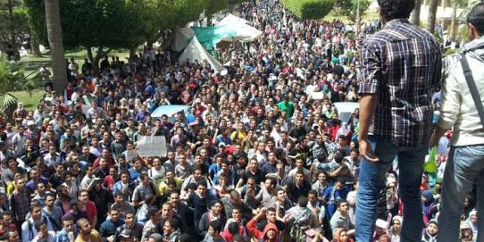 طلاب هندسة الإسكندرية: نظام التعليم الحالي يقتل أحلامنا