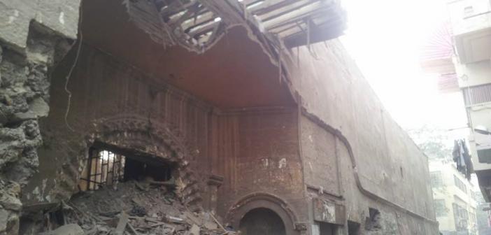 حي الدرب الأحمر يهدم «بيت المهندس» المبنى منذ عهد محمد علي (صورة)