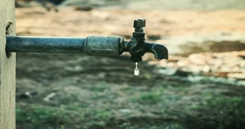 أزمة انقطاع المياه