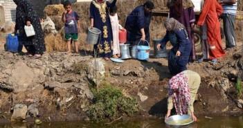 قرى البحيرة المنسية والمياه الملوثة