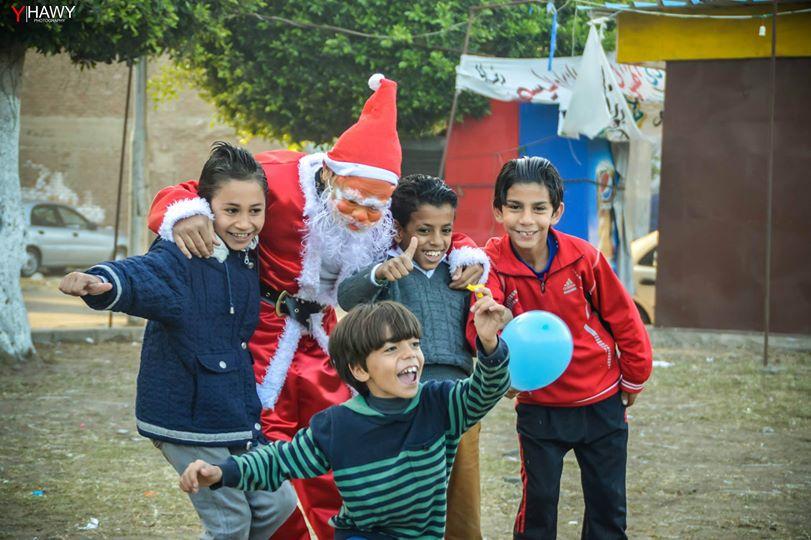 بابا نويل في بورسعيد