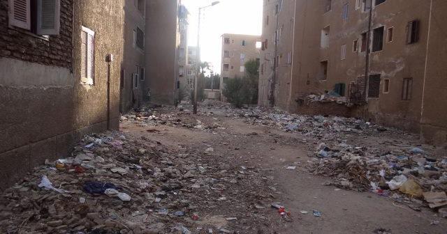 «فساد» المحليات يضرب مساكن عثمان بقنا.. وعقاراتها آيلة للسقوط