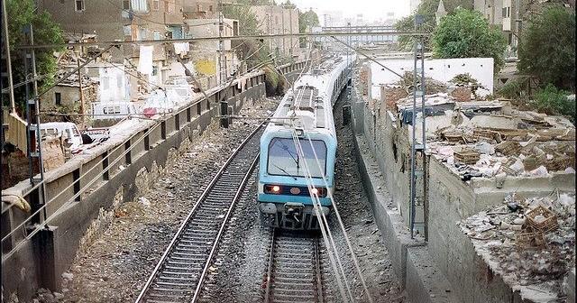 📷| تعطل المترو في محطة المرج على الخط الأول