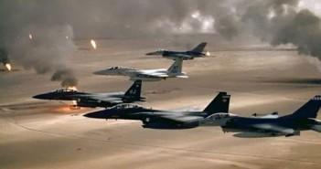 غارات على داعش