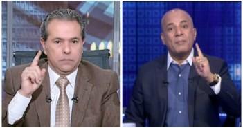 أحمد موسى وتوفيق عكاشة