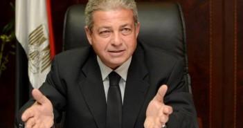 خالد عبد العزيز، وزير الشباب والرياضة
