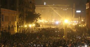 مظاهرات عبدالمنعم رياض