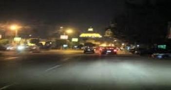 شوارع القاهرة ليلا