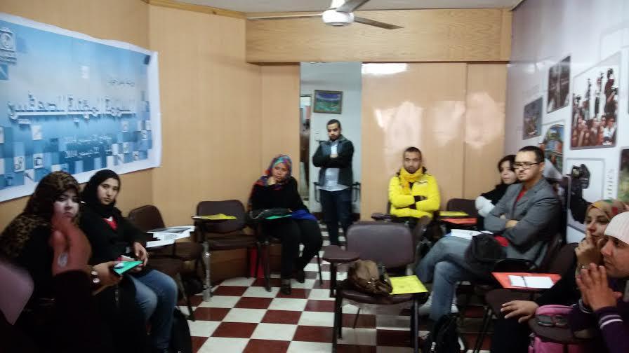 المنيا .. ورشة صحفيون ضد التعذيب (تصوير جهاد أمير)