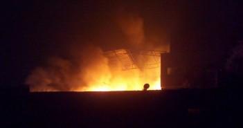 حريق مصنع  ميت نما 2