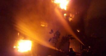 حريق مصنع  ميت نما 4