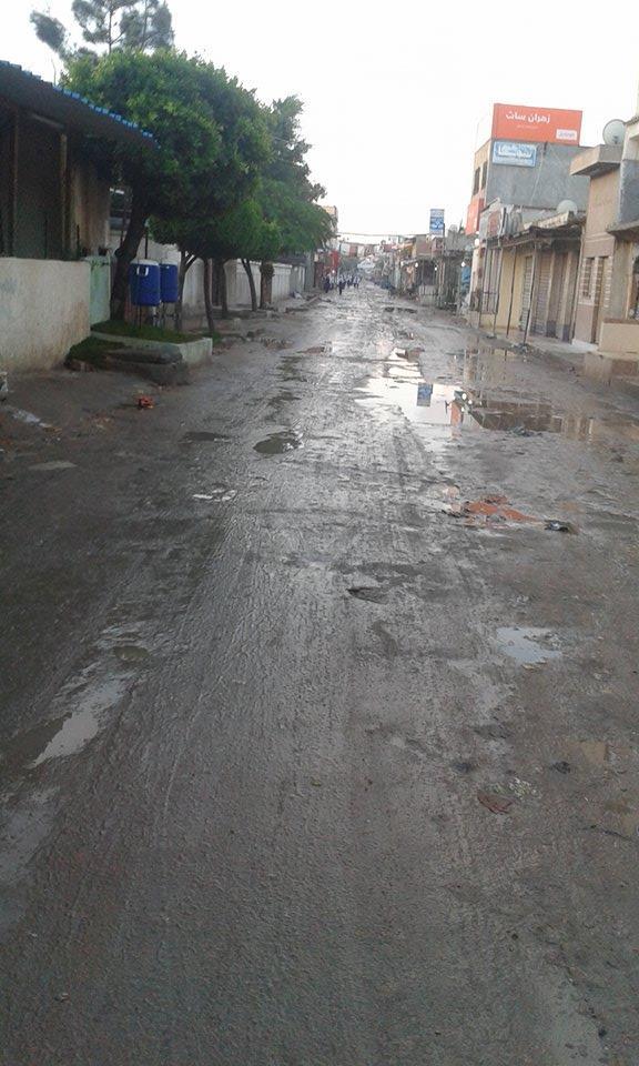 شوارع مدينة صباغي البيضا