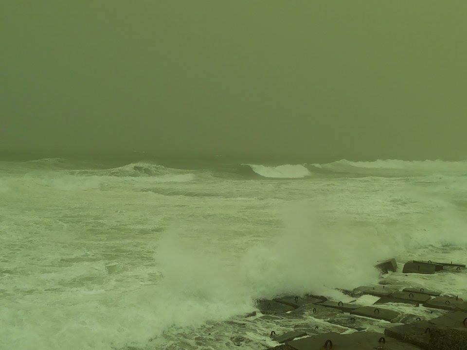 موجة من الطقس السيئ تضرب الإسكندرية