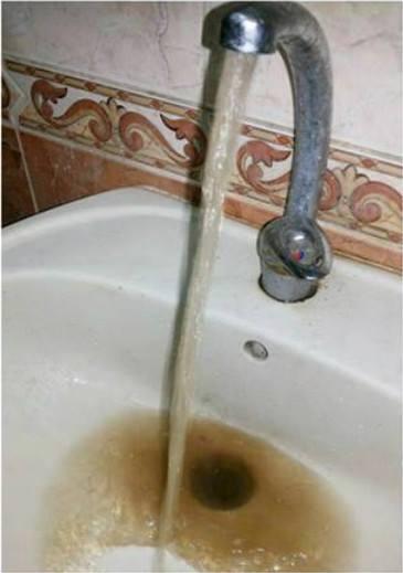 مياه ملوثة في الغربية