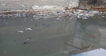 الصرف الصحي في عزبة طه بالبحيرة
