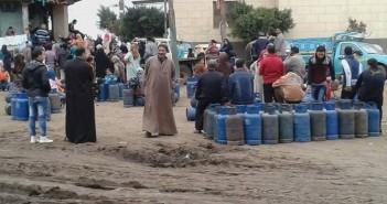 تصاعد أزمة الغاز في الغربية