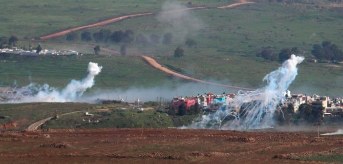 بالصور.. مزارع شبعا قبل وبعد هجوم حزب الله على موكب عسكري إسرائيلي