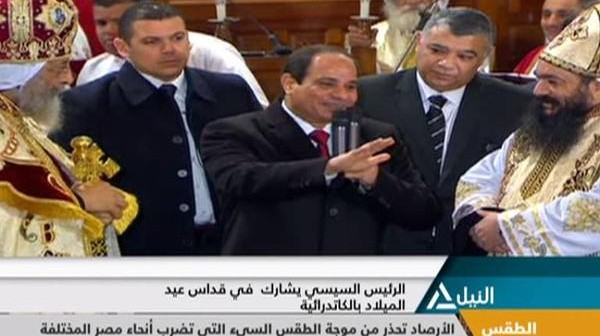 زيارة السيسي للكاتدرائية.. إحنا المصريين (رأي)