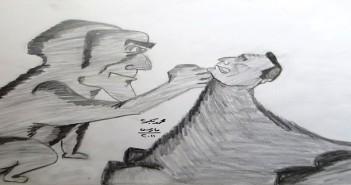 كاريكاتير 25 يناير