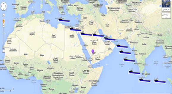 مقترح: حفر «قناة العرب» بالسعودية من الخليج إلى البحر الأحمر