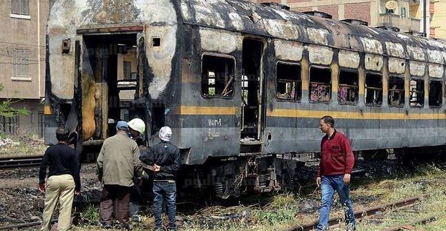 توقف حركة القطارات على خط منوف