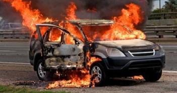 حرق سيارة ملاكي