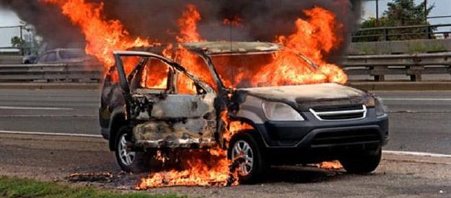احتراق 9 سيارات في «مستعمرة» مديري «السويس للبترول»