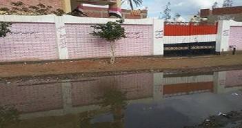 الغربية .. مياه الصرف الصحي
