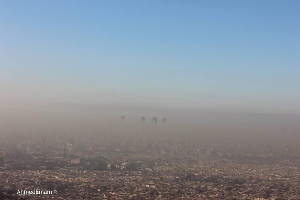 تلوث القاهرة
