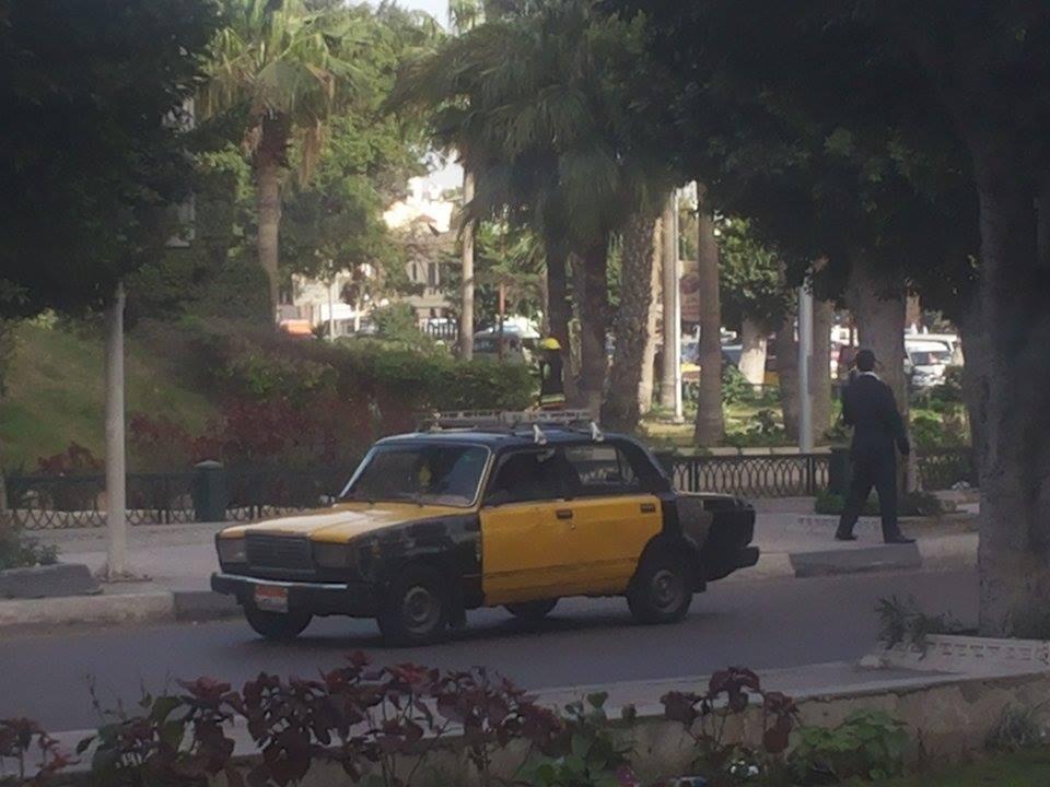 انفجار قنبلة فى حديقة الشلالات بالإسكندرية