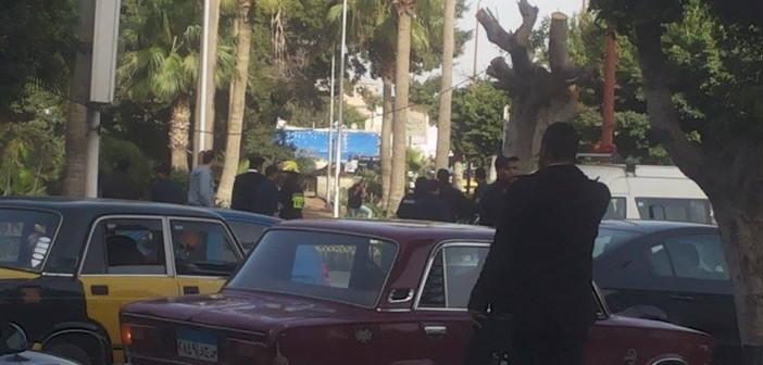 بالصور.. انفجار قنبلة بحديقة الشلالات في الإسكندرية عند محاولة تفكيكها