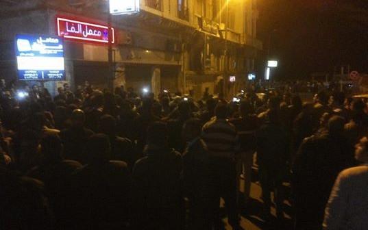صور أولية لانفجار قنبلة بجراج القائد إبراهيم في الإسكندرية