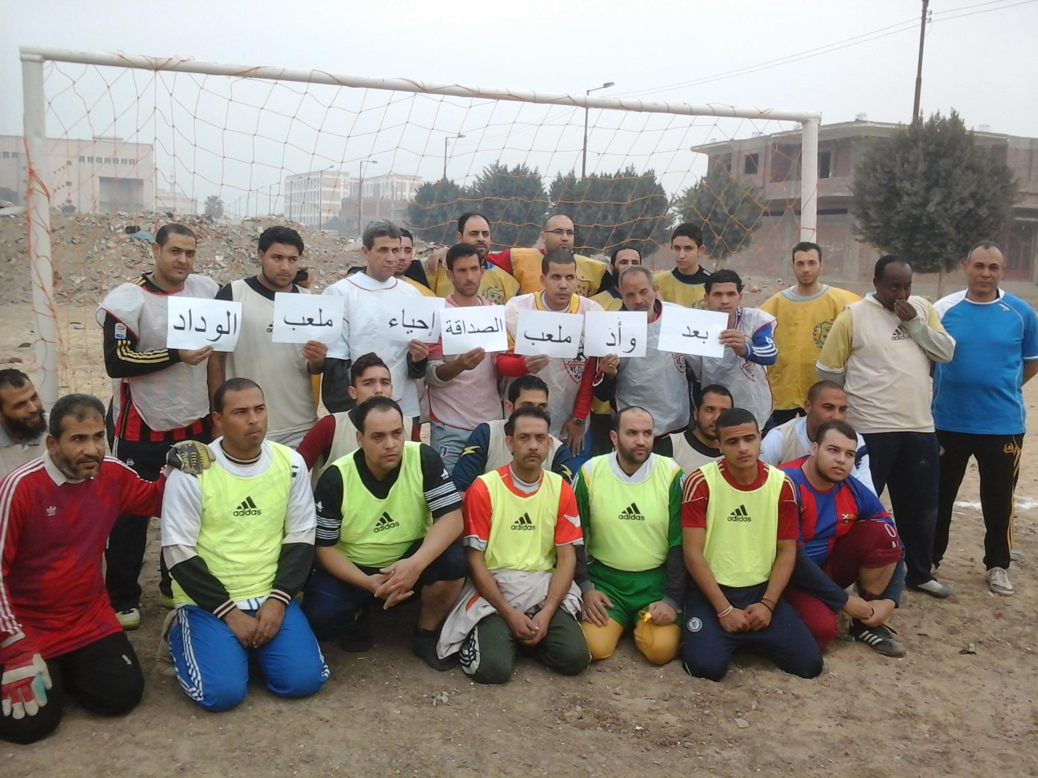 القاهرة.. ملعب كرة قدم بالخانكة